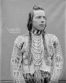 view Portrait (Front) of Charley Celila or Van Pelt in Native Dress with Ornaments 1900 digital asset number 1