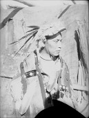 view Martin Spedees in Native Dress with Ornaments 1900 digital asset number 1