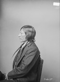 view Portrait (Profile) of Red Fish in Partial Native Dress 1894 digital asset number 1