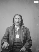 view Portrait (Front) of Standing Bear in Partial Native Dress with Washington? Peace Medal 1894 digital asset number 1