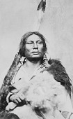 view Portrait (Front) of Pizi or Ta-Pe-Se (The Gall) in Native Dress 1878 digital asset number 1