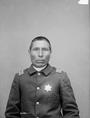 view Portrait (Front) of Mi-Wa-Kan Yu-Ha-La, Called Sword, Captain of Native Police and Judge of Native Court, in Military Uniform 1891 digital asset number 1