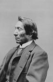 view Portrait (Profile) of Chief Makhpiya-Luta or Ma-Kpe-Ah-Lou-Tah (Red Cloud or Scarlet Cloud) 1890 digital asset number 1