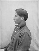 view Portrait (Profile) of James Galligo, Interpreter and Manager of Native Outfit of 101 Ranch AUG 1907 digital asset number 1