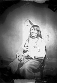 view Portrait (Front) of Chief Palaneapape (Struck A Pawnee) or Padani Apapi or Pa-Da-Ni-A-Ha-Hi (Struck by the Ree) in Partial Native Dress 1858 digital asset number 1