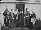 view US Commissioners and three Oglala Chiefs at Fort Laramie digital asset: US Commissioners and three Oglala Chiefs at Fort Laramie