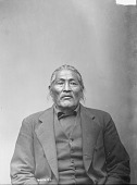 view Portrait of unidentified Dakota man 1891 ? digital asset number 1
