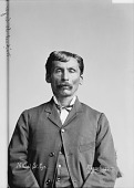 view Portrait of Winnebago man, Michel St Cyr before 1884 digital asset number 1