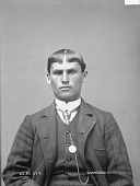 view Portrait of Winnebago man, R. D. St Cyr before 1894 digital asset number 1