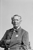 view Portrait of Winnebago man, Alex Payer before 1884 digital asset number 1