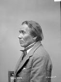 view Portrait of Winnebago man, Gray Hair before 1894 digital asset number 1