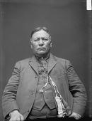 view Portrait of Winnebago man, Charkshepshutsker (Red Eagle), Chief Mar 1899 digital asset number 1