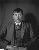 view Portrait of Catawba man, David Adam Harris (known as Toad) MAR 1905 digital asset number 1
