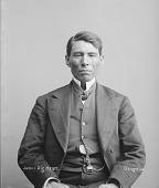 view Portrait of Osage man, Pon'-ka-wa-da-in-ga or Playful Pon-ka before 1894 digital asset number 1