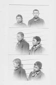 view [Portrait of six Quapaw boys: John Coldspring, Alex. Mudd, Frank Greenbeck, Wiley Ball, John Lane, and Merton Quapaw] 1894 digital asset number 1