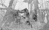 view [Groups of Seri Indians on board USS Narragansett] 1874 digital asset number 1
