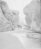 view [The Gorge of Bacuache, the gateway to Seri] 1895 digital asset number 1