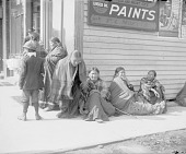 view [Indian women and children on the main street] 1900-1907 digital asset number 1