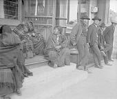 view [Winnebago Indians on the main street] 1907 digital asset number 1
