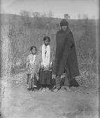 view [Winnebago man and children] ca. 1887-1889 digital asset number 1