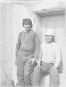 view Two Navaho men ca 1900-1920 digital asset number 1