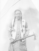 view Portrait of Martin Charlo, hereditary chief of Flathead tribe Aug 1913 digital asset number 1
