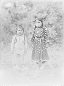 view Boy and Girl, Both in Native Dress with Ornaments 1910 digital asset number 1
