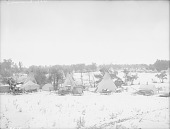 view View of Fair Showing Tipis, Tents and Wagons 03 OCT 1911 digital asset number 1
