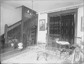 view Views of interior of Matilda C. Stevenson's home, 1303 P Street, Washington, D. C. 1890s-1900s digital asset number 1