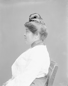 view [Portrait (Profile) of Mary Antoine] October 10, 1904 digital asset number 1