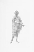 view [An aged Algonquian man in his winter garment, from a watercolor drawing] digital asset number 1