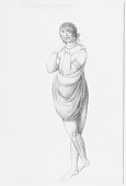 """view [""""One of the wyues of Wyngyno"""" (A young gentlewoman of Secota)] digital asset number 1"""