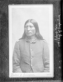 view [Portrait (Front) of Sharp Nose, 2nd Chief of Arapahoes] 1877 digital asset number 1