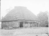 view [House in Apia village, Upolu Island, Samoa Islands] 1900 digital asset number 1