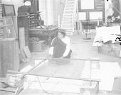 view [We-wha or Whe-wa, setting up loom on Smithsonian grounds] digital asset number 1