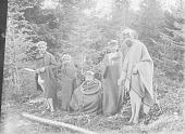 view Kwakiutl Winter Initiation, Noonlemala or Fool Dancers Racing in Secret Meeting Grove of Trees Nov-Dec 1894 digital asset number 1