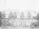 view Kwakiutl Tsetsaeqa (Winter Ceremonial), Hamatsas of the Koskimo at Feast Nov-Dec 1894 digital asset number 1