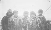 """view Group of Men from Kolmakof Mission, in Native Dress, Aboard Cutter, """"Corwin"""" digital asset: Group of Men from Kolmakof Mission, in Native Dress, Aboard Cutter, """"Corwin"""""""