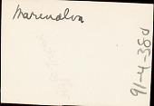 view Adpoted daughter of Manoel da Silva, chief drummer at Gantois, 1938 December digital asset number 1