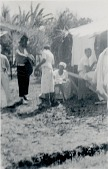 view Woman selling food at Itapagipe after offering to mãe d'agua, 1938 September 18 digital asset number 1
