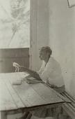 view Filenha making barrafunda lace [for] Sabina, 1938 October digital asset number 1