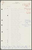 view Trobriand Folklore Index digital asset: Trobriand Folklore Index: 1961