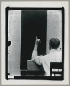 view Portrait of Frank Hamilton Cushing, Bureau of American Ethnology staff member, demonstrating Indian hand signals for numbers ca 1880s-1890s digital asset number 1
