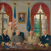 view Truman and his Military Advisors digital asset number 1
