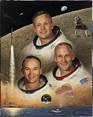view Apollo 11 Crew digital asset number 1