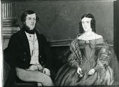 view Man and Woman Seated on Sofa digital asset number 1