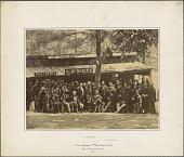 view Burnside and the 1st RI Militia at Camp Sprague digital asset number 1