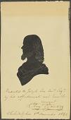 view Auguste Edouart Self-Portrait digital asset number 1