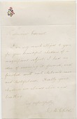 view Letter to Auguste Edouart from Lydia Maria Child digital asset number 1