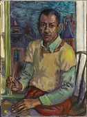 view James Amos Porter Self-Portrait digital asset number 1